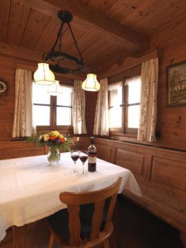 Unser gemütliches Holzhaus