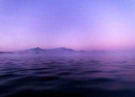 Mystischer Morgen am See