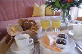 Gemütliches Frühstück